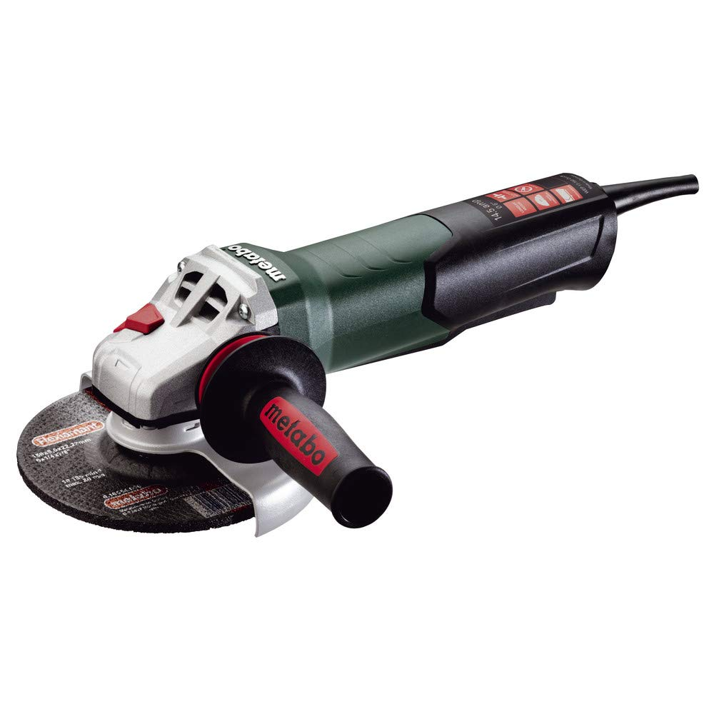 Metabo 600507420 14.5 Amp 6 in. Angle Grinder with TC Electronics and Non-Locking Paddle Switch 51xIdyGSsUL._SL1000_