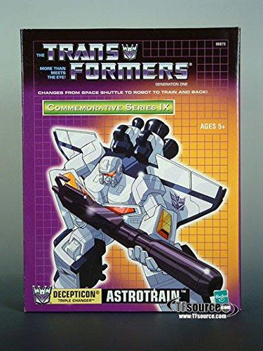 Hasbro Transformers Generation 1 Commemorative Series IX Astrotrain Action Figure