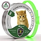 Flea and Tick Prevention for Cats, Cat Collar for All Weights, 8 Month Protection(13 Inch)
