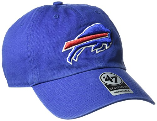 NFL Buffalo Bills Clean Up Adjustable Hat, Royal, One Size Fits All Fits ()