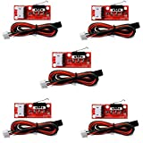 Gowoops 5 PCS of Mechanical Endstop Switch with Cable for 3D Printer Makerbot Prusa Mendel RepRap CNC Arduino Mega 2560 1280