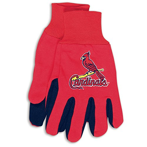 WinCraft MLB St. Louis Cardinals Two-Tone Gloves, 2-Pack, - Gloves Tone Two Cardinals
