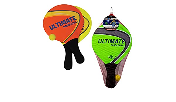 Amazon.com: Ultimate Paddleball Game - (Neon Colors May Vary): Toys & Games