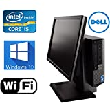 DELL Optiplex 790 Windows 10 Pro All in One Desktop Computer- New 1TB HDD- Intel Core i5 3.1Ghz- 8GB of Memory- With 19'' Monitor - Refurbished