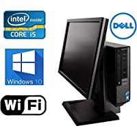 DELL Optiplex 790 Windows 10 Pro All in One Desktop Computer- New 1TB HDD- Intel Core i5 3.1Ghz- 8GB of Memory- With 19 Monitor - Refurbished