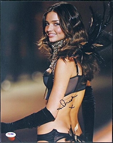 Miranda Kerr Victoria'S Secret Autographed Authentic 11x14 Photo - PSA/DNA - Miranda Secret Kerr Victoria