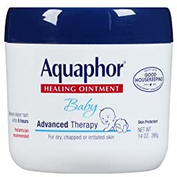 Aquaphor Baby Healing Ointment, Advanced Therapy 14 oz (Pack of 2)