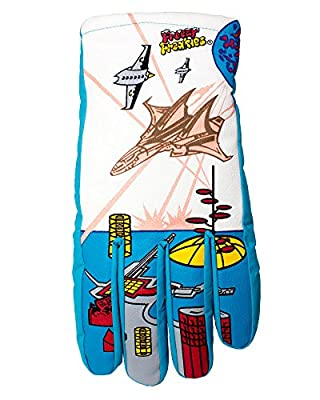 Freezy Freakies Fighter Jet Style Retro Color-Changing Winter Gloves for Adults