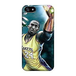 Kobe Bryant In Lakers cases Diy For SamSung Galaxy S4 Case Cover for girls