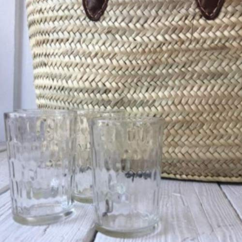 Vintage Hammered Snuff Glasses