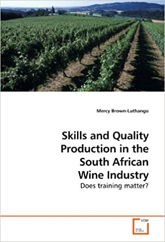 Book Skills and Quality Production in the South African Wine Industry: Does training matter?