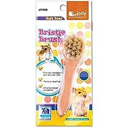 yepmax Small Animals Grooming Brush Bristle Brush for Hamster