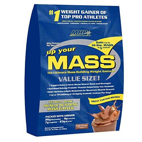 MHP, vers le haut de votre poids masse Gainer, Fudge Brownie, 10 livres