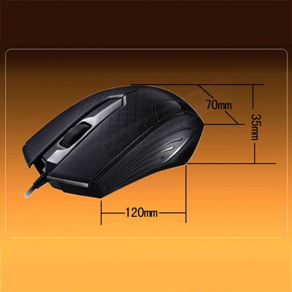 BINGFEI Universal 1000DPI USB Computer Mouse Gamer Mice for PC Laptop Desktop USB Wired Gaming Mouse Optical