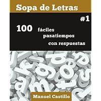 Sopa de Letras #1 (Volume 1) (Spanish Edition)