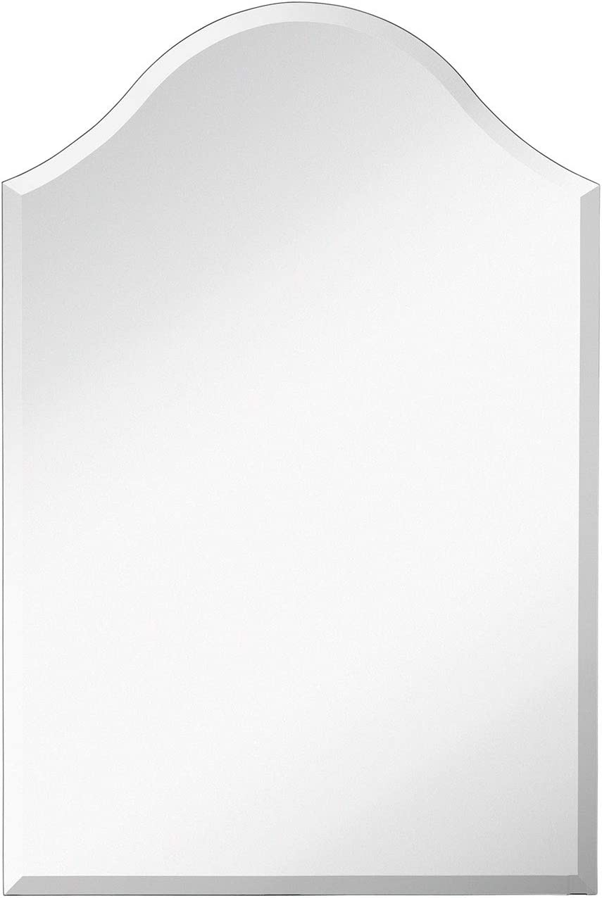 Hamilton Hills 24 x 36 Frameless Curved Top Beveled