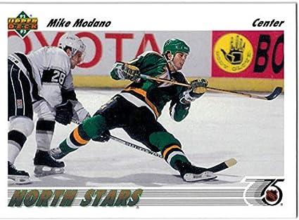 1991-92 Upper Deck Minnesota North Stars Team Set with Mike Modano   Jon  Casey 147063904