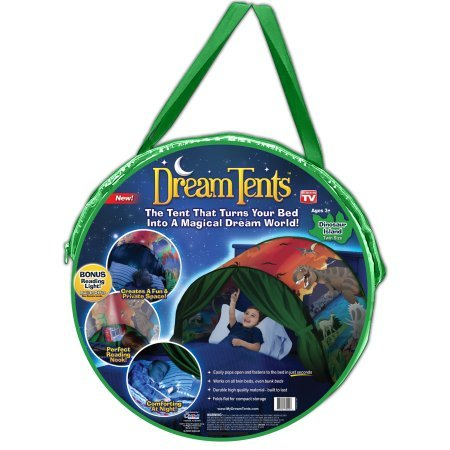 Lowest Prices! DreamTents Fun Pop Up Tent - Dinosaur Island