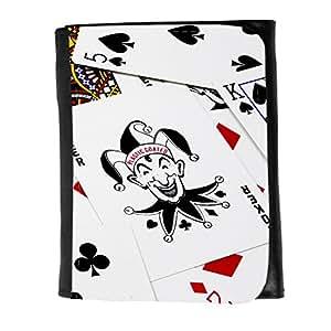 le portefeuille de grands luxe femmes avec beaucoup de compartiments // V00002548 Jugar tarjetas del póker // Small Size Wallet