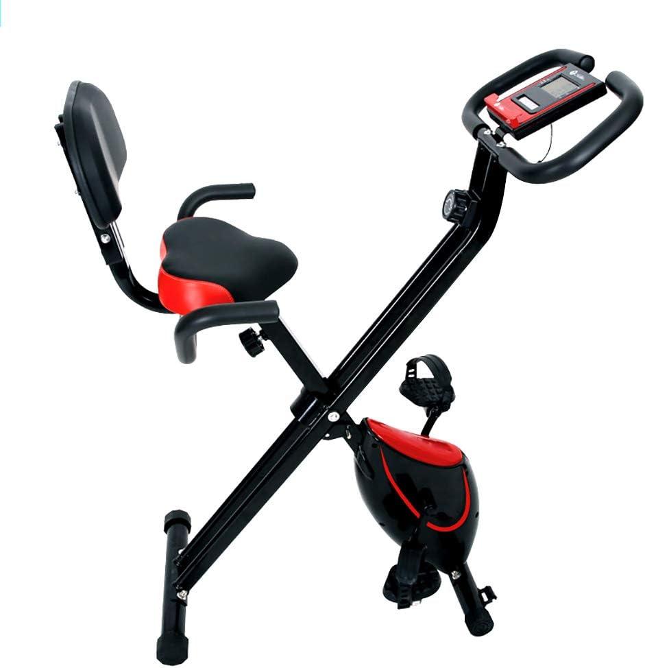 Bicicleta de ejercicios plegable interior, bicicleta de ejercicio ...