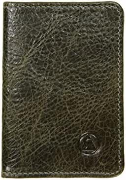 Washington Slim Leather Wallet, Made in California. Leather Card holder