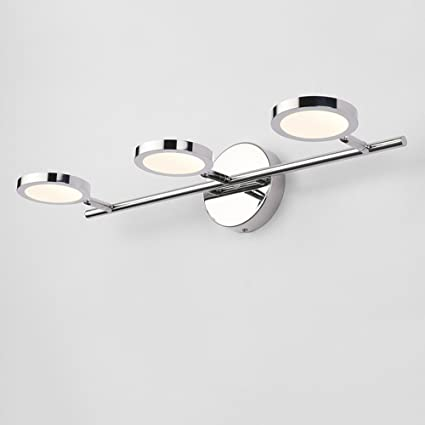 Aplique De Pared Moderno LED Espejo Luz Frontal Apliques Lámpara De Baño  Simple Luz De La 8665c8722510