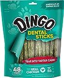 Dingo P-94013 Dental Sticks (48 Pack), 1 Pouch