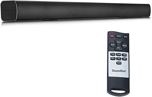 WHCCL Barra de Sonido, TV Altavoz Bluetooth Altavoces duales ...