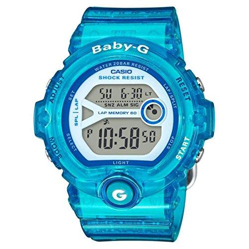 Casio Baby G Digital Dial Polyurethane Strap Ladies Watch BG-6903-2B