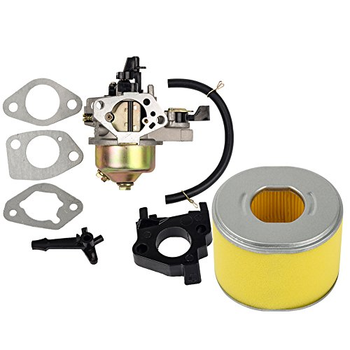 HIFROM Carburetor Carb with Gaskets Air Filter for Honda Gx240 Gx270 8hp 9hp (Honda Gx240 Carburetor)