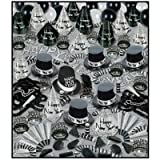 Silver Bonanza Assortment for 100, New Year's Eve Party Kit