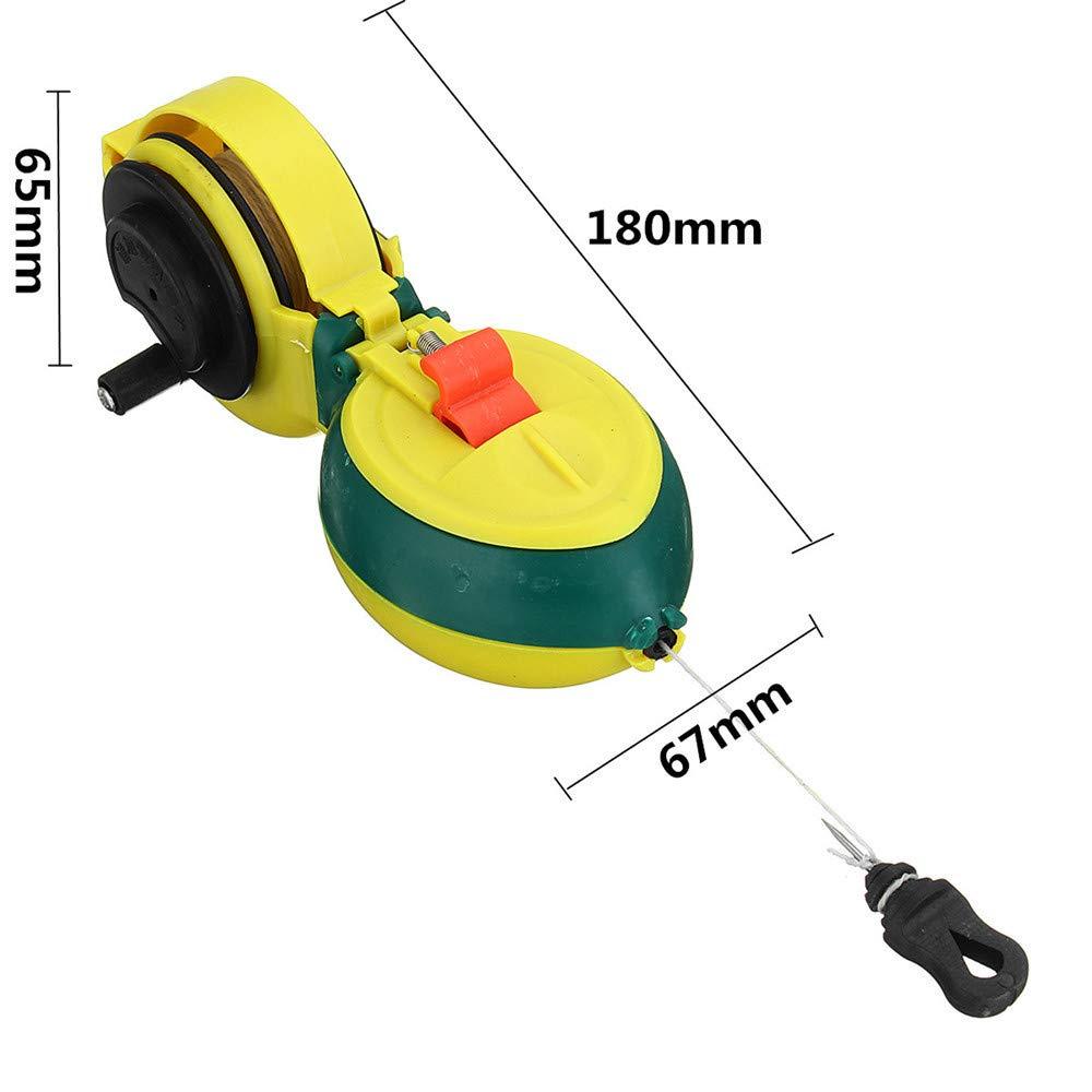 Doolland Kreidelinie Holzbearbeitung Schreiner Marker Tools Manuelle Tinte 15M Handspule Wire Box