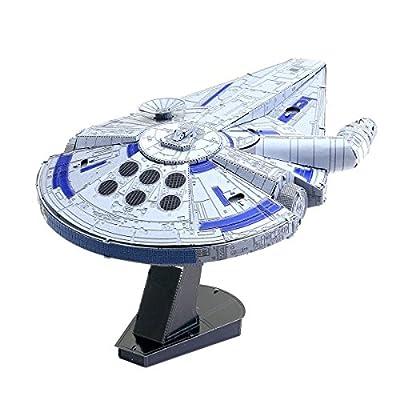 Fascinations ICONX Star Wars Solo Lando's Millennium Falcon 3D Metal Model Kit: Toys & Games
