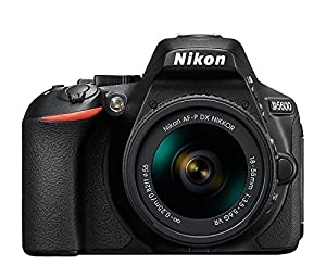Nikon D5600 Wi-Fi Digital SLR Camera with 18-55mm VR & 70-300mm DX AF-P Lenses + 32GB Card + Case + Flash & DigitalAndMore Free Deluxe Accessory Kit Bundle (Black Friday / Cyber Monday Deal!) by Nikon