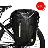 Best Bike Panniers - WATERFLY Bike Pannier, Waterproof Adjustable Large Bike Rear Review