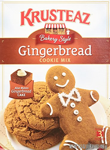 Krusteaz Bakery Style Gingerbread Cookie Mix