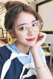 Generic Plain mirror personalized irregular octagonal palm network Red Pearl eye glasses nose pads