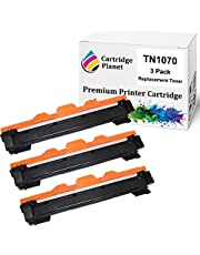 Cartridge Planet 3-Pack Compatible Toner Cartridge for Brother TN-1070 TN1070 (1,000 Pages) for Brother DCP1510 HL1110 HL1210W MFC1810
