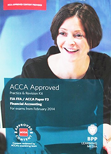 FIA Foundations of Financial Accounting FFA ACCA F3 iPass