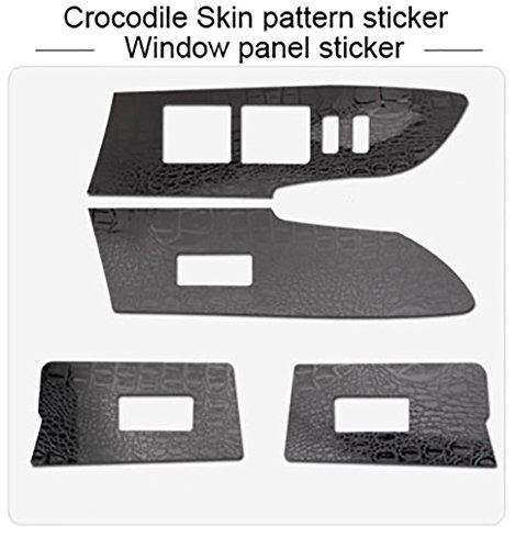 (CALAP-STORE - Auto Window Switch Panel Door Handle Trim Carbon Fiber Film Car-styling Sticker And Decal For Toyota Corolla Accessories)