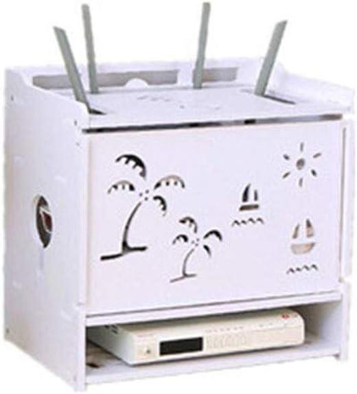 Flotante Router Caja de Almacenamiento montado en la Pared de TV ...