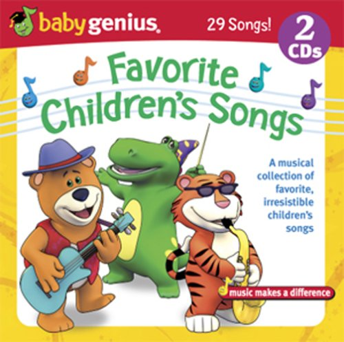 Favorite Childrens Songs Baby Genius