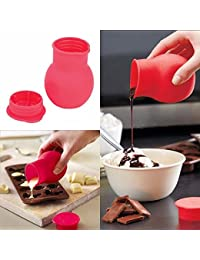 Gain 1 Piece Silicone Chocolate Melting Pot Mould Butter Sauce Milk Baking Pouring Kitchen Heat Microwave tool cooking... wholesale