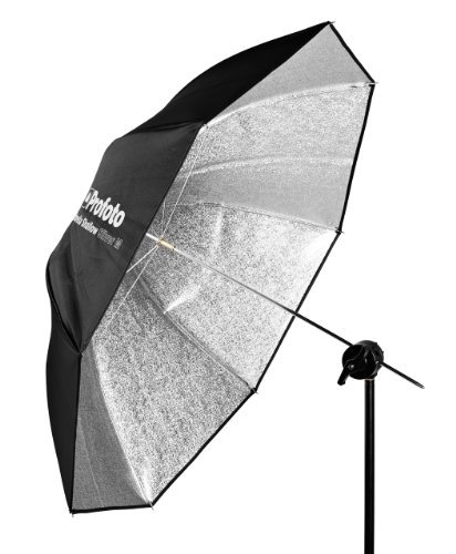 - Profoto Umbrella Shallow Silver M (105cm/41