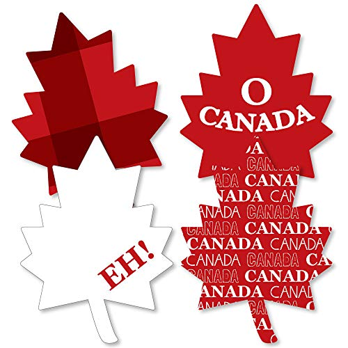 Canada Day - Maple Leaf Decorations DIY Canadian Party Essentials - Set of 20 -