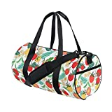 Best  - Duffel Bag Tomato Tropical Leaves Flower Women Garment Review