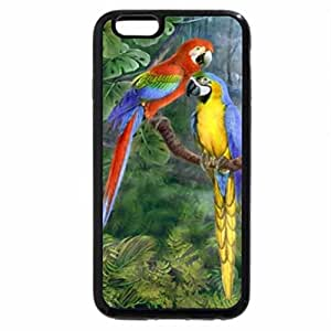 iPhone 6S Plus Case, iPhone 6 Plus Case, Parrots