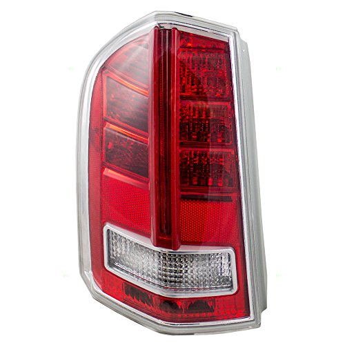 Drivers Taillight Tail Lamp Lens Replacement for Chrysler 300 68042171AE AutoAndArt ()