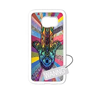 hamsa hand Samsung Galaxy S6 edge Plastic Case, hamsa hand DIY Case for Samsung Galaxy S6 edge at WANNG