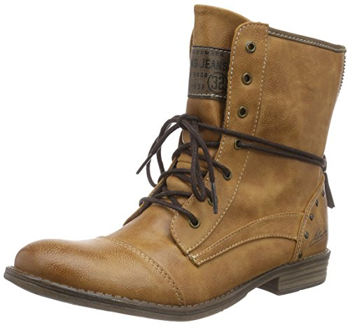Mustang Women 1157-5 Cold Lined Classic Boots Short Length Brown (Cognac 307)